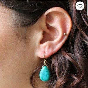 3/$15 ♡ NIB Turquoise earrings